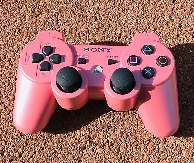 Genuine OEM Sony PlayStation 3 PS3 Sixaxis DualShock 3 Controller - Candy Pink