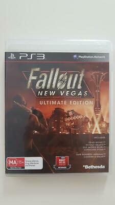 Fallout New Vegas Ultimate Edition PS3 VGC PAL