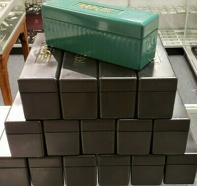 Lot of (16) PCGS Slab Graded Coin Holder Boxes