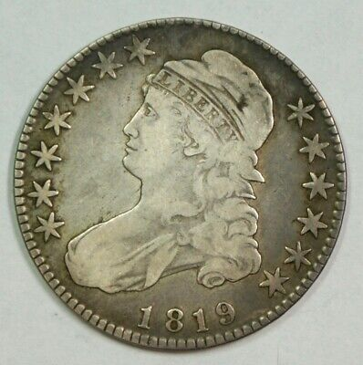 1819 US Bust Half Dollar – Great Looking Coin
