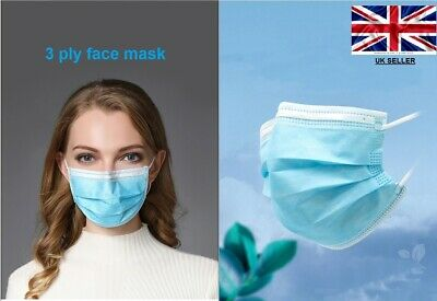 DISPOSABLE FACE MASK DISPOSABLE SURGICAL FACE SALON DUST MASK WITH Ear Loop