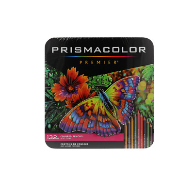 Prismacolor Premier Soft Core Colored Pencils 132 Multi Colored Pencils Set