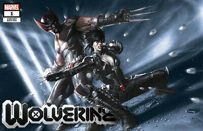 X-Men Wolverine #1 Gabriele Dell'Otto Fan Expo Wolverine Variant Limited 2020 NM