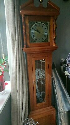 Grandfather clock -spare repair - it does tic tok- but runs fast