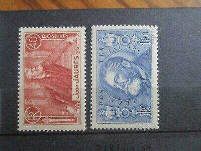 Timbres France Yt 318/319  Neuf Xx