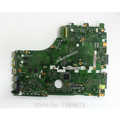 For ASUS X550 X750 X550ZE Laptop AMD A10-7400P CPU Motherboard 60NB06Y0-MB1801
