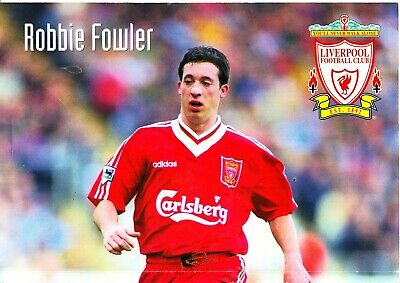 Robbie fowler signed autograph liverpool football club.