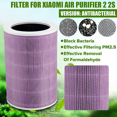 Filter for Xiaomi Mi Air Purifier 1/2/PRO/2S 1PC Filter Cartridge Antibacterial