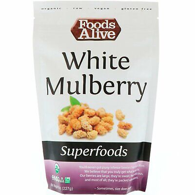 Foods Alive, Superfoods, White Mulberry, 8 oz (227 g)