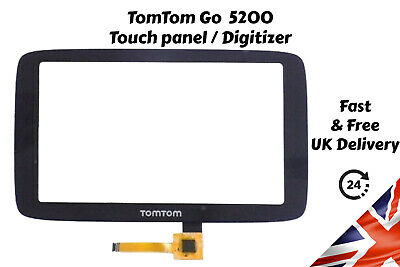 TomTom Go 5200 Touch Panel Digitizer Glass Replacement Screen GoWifi