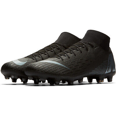 Nike Mercurial Superfly 6 Academy Fg Men's Black Grey Football Shoes New