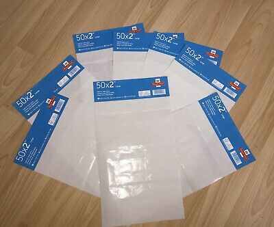 4 EMPTY stamp 2nd class large letter stamps x50 Sheets 4 EMPTY SHEETS NO STAMPS