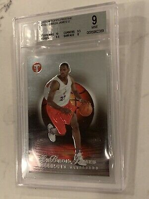 2003-04 Topps Pristine LeBron James U Rookie,#102, 509/999,Perfect 10 Centering!
