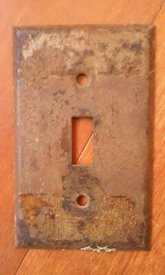 Antique Rustic Wall Switch Plate~ Reclaimed From an Old Farmhouse