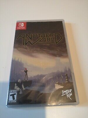 Another world nintendo switch limited run games new sealed
