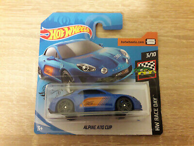 2020 Hot Wheels Renault Alpine A110 Cup - 1:64 1/64 HW Race Day 3/10 Blue