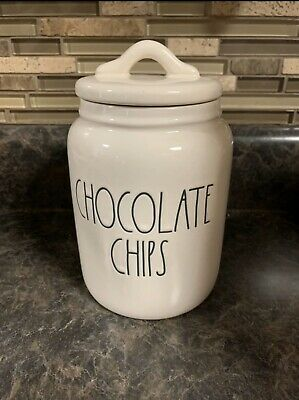 New Rae Dunn Chocolate Chip Canister