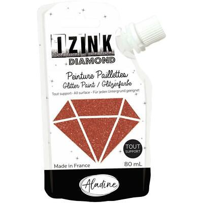 IZINK Diamond Glitter Paint 80ml - Brown