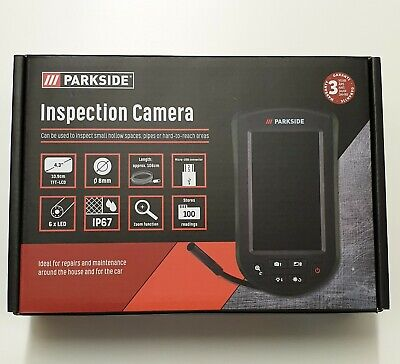 "PARKSIDE Inspection Camera With Display TFT-LCD 2.7"" FOR DRAINS & Vehicles etc"