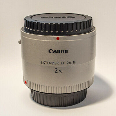 Canon Extender EF 2X III Teleconverter - Barely used