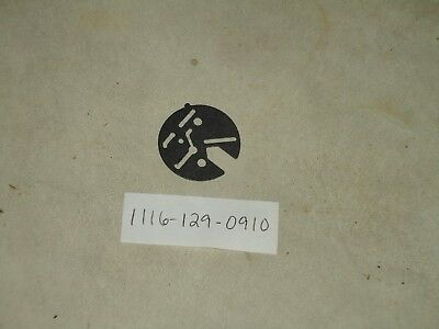 STIHL GENUINE OEM NOS 1116 129 0900 CARB COVER GASKET