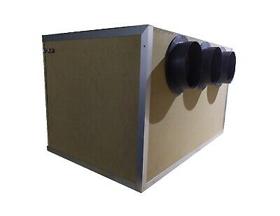 Up to 4 Dual fan miner Antminer S17 T17   Sound proof box