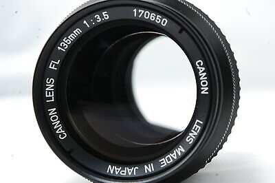 Canon FL 135mm F3.5 Lens  SN170650 **Excellent++**