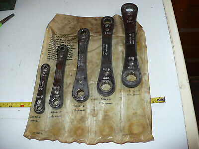 Vintage Western Auto General Double Box Ratcheting Wrench Set