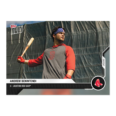 2020 MLB TOPPS NOW Road to Opening Day ~ #OD-16 Andrew Benintendi Boston Red Sox