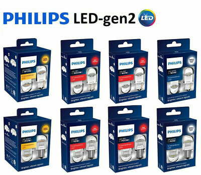 PHILIPS X-treme LED Gen2 P21 P21/5W W21W W21/5W WY21W RED WHITE AMBER 1156 1157