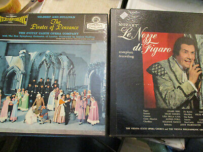 The Pirates of Penzance + Figuro    ( 2 Box Sets) 2 classic operas