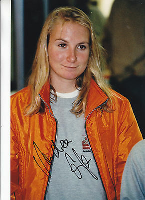 Gf / Autografo Andrea Glass Tennis