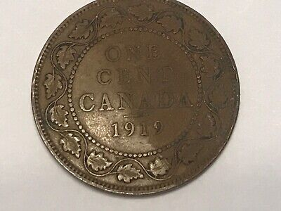 1919 Canada One Large Cent