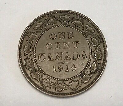 1914 Canada One Large Cent