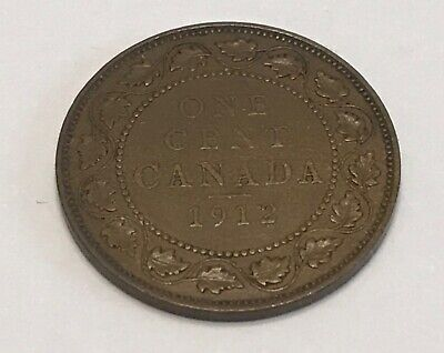 1912 Canada One Large Cent