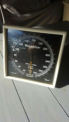 Tycos Welch-Allyn Jewel Movement Sphygmomanometer Blood Pressure Gauge Made Usa