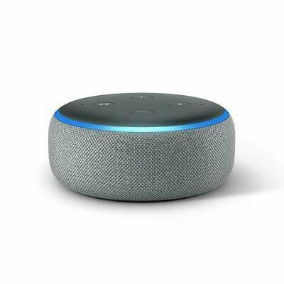 Amazon Echo Dot (3rd Gen) Smart speaker with Alexa - Heather Grey