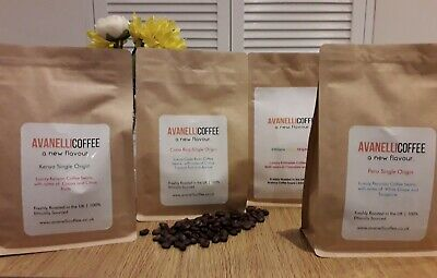 South American Coffee Bundle - x10 250g bags- luxury ground AVANELLICOFFEE