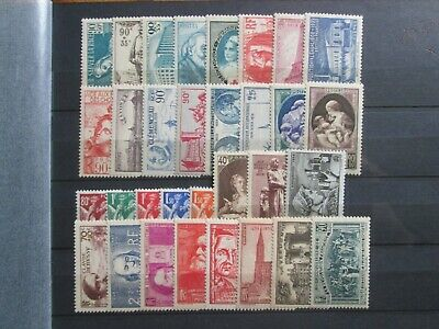 Timbre France Annee 1939  Neuf X
