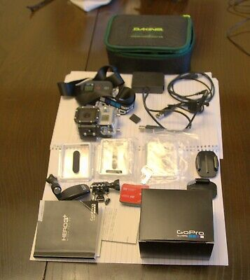 GoPro HERO3+ Black Edition Action Camera/camcorder - complete with accessories