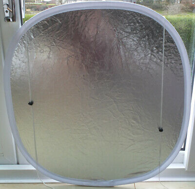 Lastolite Cubelite 3ft Reflector Silver/White with toggle strings