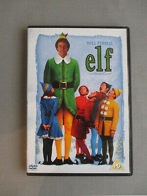 Elf DVD. Will Ferrell / James Caan. 2 Disc Edition. 2005. PG. Very Good.