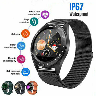 Smart Watch Fitness Heart Rate Blood Pressure Monitor For iOS Android Wristband