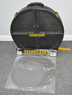 """Hardcase 22"""" Cymbal case with new set of Genuine Hardcase HCP19 Dividers"""