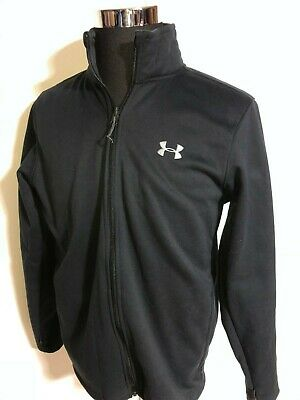 Mens UNDER ARMOUR STORM full zip Jacket medium COLD GEAR WARM!!