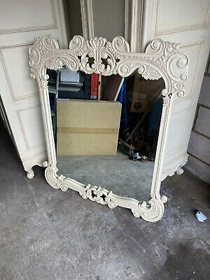 French Style Armoire Mirror