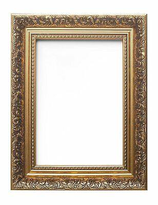 Ornate Swept Antique Picture Frame Photo Frame  With Mount French  Bespoke