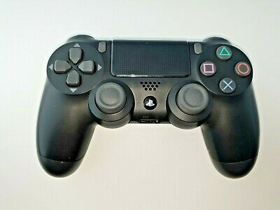 Genuine Official Sony Playstation 4 Dual Shock Ps4 Wireless Black Controller