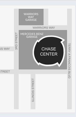 Oprah Winfrey Chase Center VIP Parking 02/22/2020