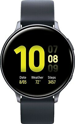 Samsung Galaxy Watch Active 2 SM-R820 44mm Aluminum Case with Sport Band Smartw…